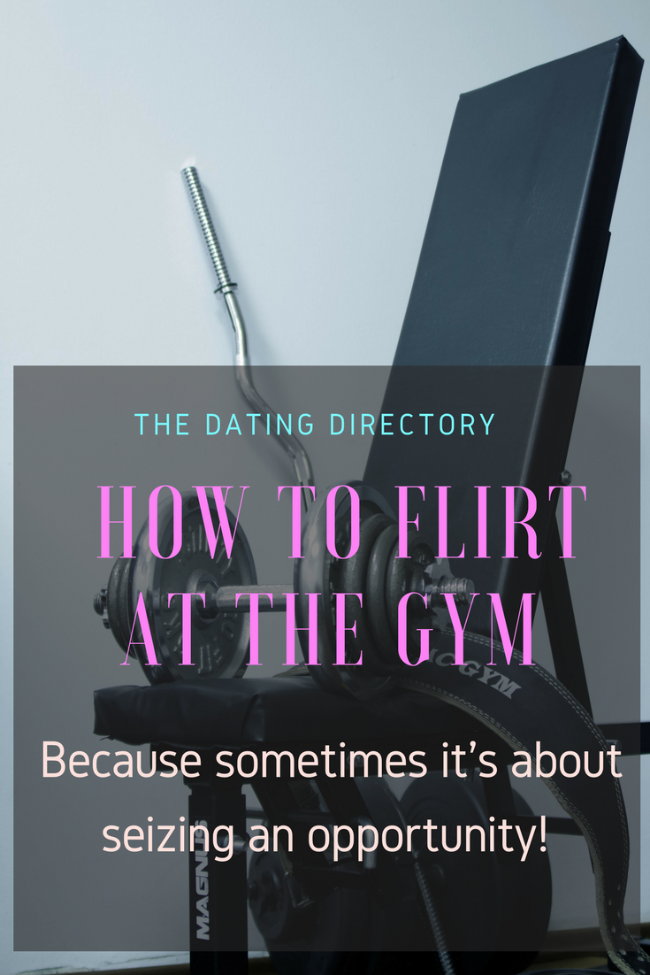 flirting at the gym guest post by katy moore