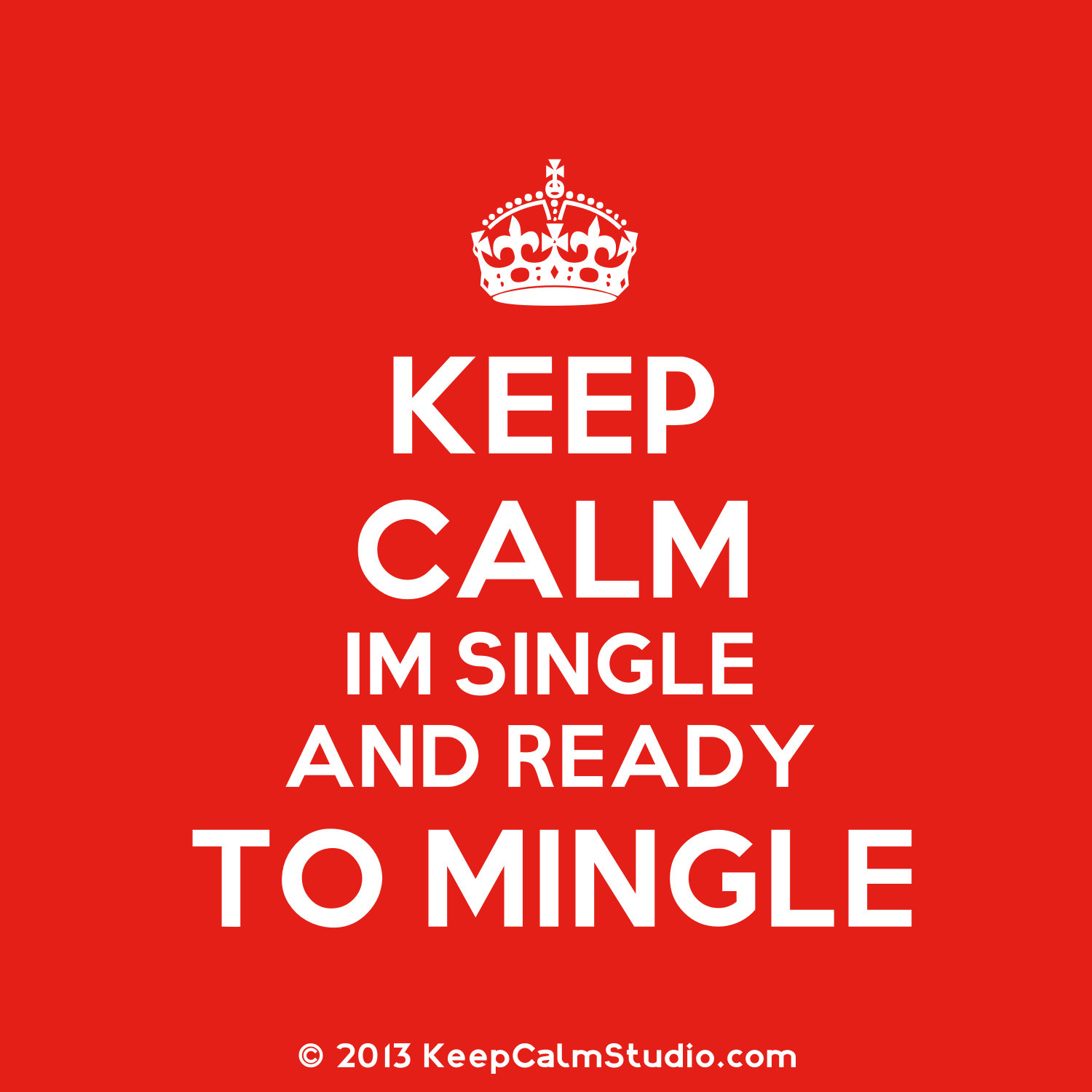 Are You Single And Ready To Mingle