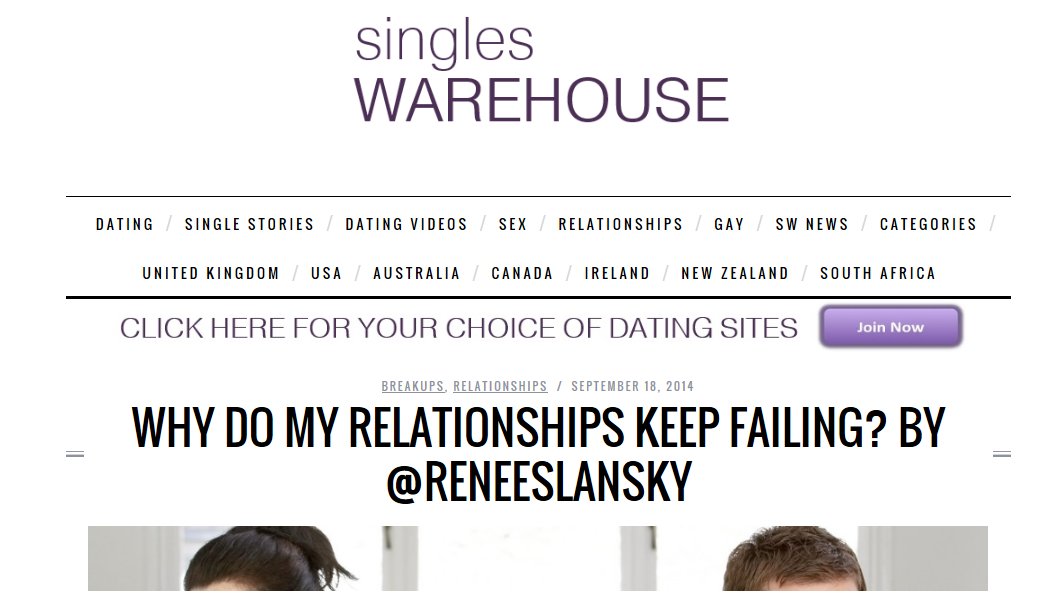 singles warehouse blog