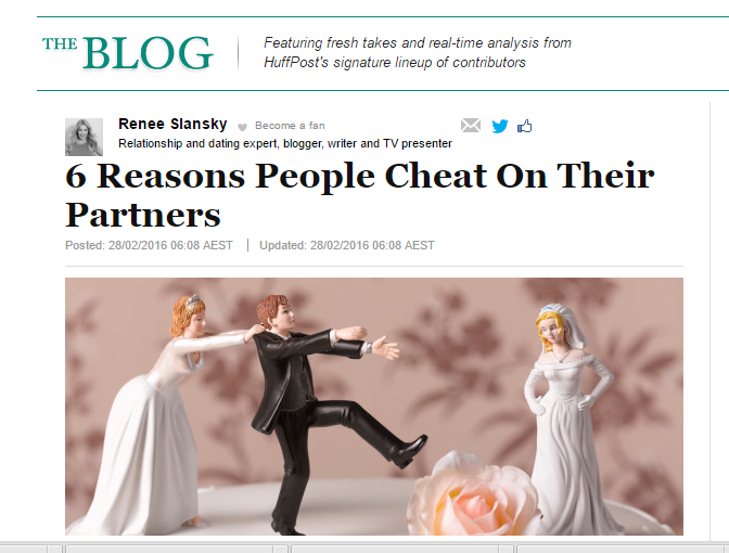 6 Reasons People Cheat On Their Partner