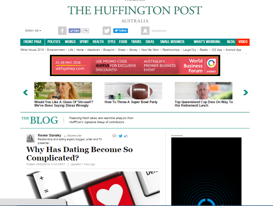 huffington post publication