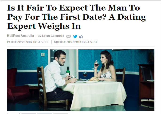 dating expert advice Huff Po