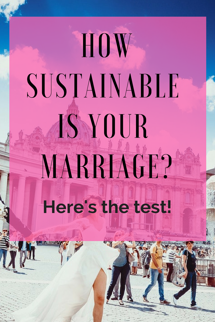 How sustainable is your marriage? Take the test! - The